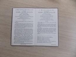 Doodsprentje Marie Justine Ballois Komen 29/8/1873 - Wervik 8/11/1956 ( Henri Lemahieu) - Religione & Esoterismo