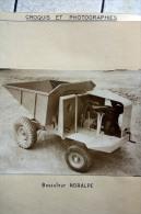 Fiche Technique CITRA Avec Photo Et Plan Et Descriptif D'un Basuleur NORAPLE En 1956 à Brienne - Tools