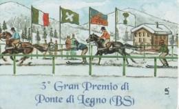 NUOVA-(Mint)- 197--SIP-PRIVATE--GRAN PREMIO PONTE DI LEGNO - Italia