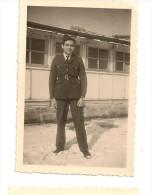 Ph.em@  N° 1 PHOTO DERRIERE L´INFIRMERIE DE FLORENNES  ANNEES 1948 - Florennes