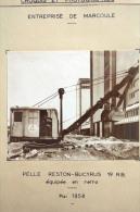 Fiche Technique Complète CITRA D'une PELLE RUSTON BUCYRUS 19 R.B -  Chantier Le Neubourg & Le Havre - Tools