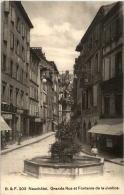 Neuchatel - Grande Rue - NE Neuenburg