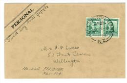 NUOVA ZELANDA FDC 1938 King George VI - Storia Postale