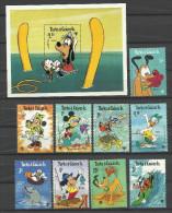 Walt Disney ** MNH  Turks  & Caicos 445.53 + BF 17  Année Internationale De L'enfant  1979 - Disney