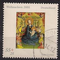 2005 Allem. Fed. Yv. 2318  Mi. 2493 Used NOEL  Muttergottes In Der Rosenlaube - BRD