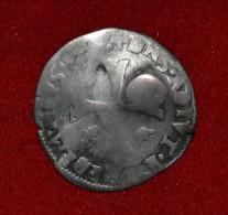 Douzain Contremarqué D´un Lis Pour Louis XIII - Dombes - Louis II De Montpensier - 987-1789 Monnaies Royales