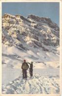 - ( Sports D´Hiver -ski)  ( Editions : N° 78 C.E.L.A Genève-Cpsm  Format 14 X 9 Cms ) *PRIX FIXE - Sport Invernali