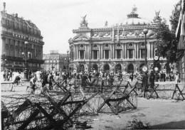 Grande Photo Libération De Paris Barbelés - 1939-45
