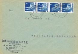 7653. Carta SCHWARZENBACH ( Almania ) 1948, Zona Anglo Americana - Bizone