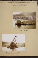 Fiche Technique CITRA 6 Photos Et Plan GRUE FLOTTANTE CINGHALAIS - Chantier Mers El Kebir 1957 Algérie Poste De Commande - Tools