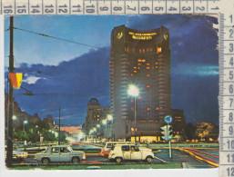Auto Autos Cars  Renault 4  Bucuresti Romania  Hotel Intercontinental - Turismo