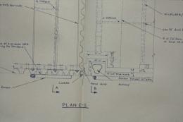 5 PLANS Of Frigate Wharf Of BOMBAY In 1956  Naval Dockyard - Mumbai Plan Du Port - CITRA Cofferdam - Travaux Publics