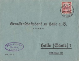 DR Brief EF Minr.464 Deuna - Briefe U. Dokumente