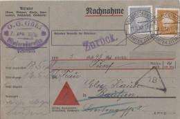 DR NN-Karte Mif Minr.410,436 Niederoderwitz 11.5.32 - Deutschland