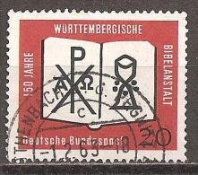 BRD 1962 // 382 O - Gebraucht