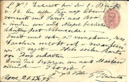 STATIONERY 1895 - Stamped Stationery