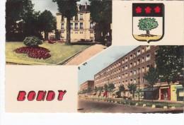 Bondy   La Mairie Les H.L.M - Bondy