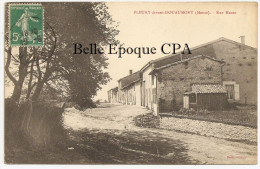 55 - FLEURY-devant-DOUAUMONT - Rue Haute +++ Body, éditeur +++ Vers Auxy-le-Château, 1911 +++ RARE / JAMAIS Sur Delcampe - France