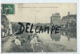 CPA -Saint Omer - Un Jour De Concours De Pêche- - Saint Omer