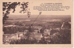 CPA Clermont-en-Argonne - Un Des Panoramas Pris Du Plateau (1849) - Clermont En Argonne