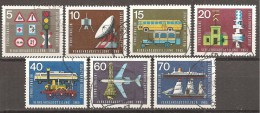 BRD 1965 // Michel 468/474 O (11.636) - [7] West-Duitsland