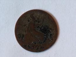 Grande-Bretagne 1/2 Half Penny 1861 - 1816-1901 : Frappes XIX° S.