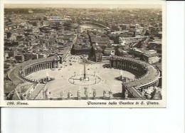 PANORAMA DELLA BASILICA S. PIETRO  AÑO 1935  OHL - Vaticaanstad
