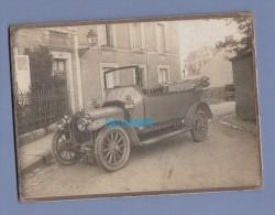 Photo Ancienne Vers 1900 - Superbe Automobile à Identifier - Voir Carrosserie , équipement Et Intérieur - Automobili