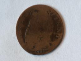 Grande-Bretagne 1/2 Half Penny 1907 - 1902-1971 : Monnaies Post-Victoriennes
