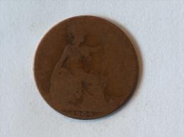 Grande-Bretagne 1/2 Half Penny 1909 - 1902-1971 : Monnaies Post-Victoriennes