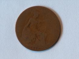 Grande-Bretagne 1/2 Half Penny 1916 - 1902-1971 : Monnaies Post-Victoriennes
