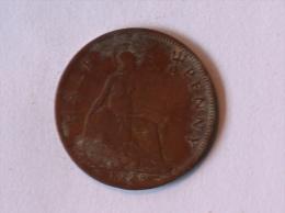 Grande-Bretagne 1/2 Half Penny 1928 - 1902-1971 : Monnaies Post-Victoriennes