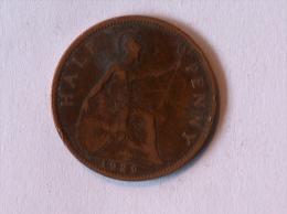 Grande-Bretagne 1/2 Half Penny 1929 - 1902-1971 : Monnaies Post-Victoriennes