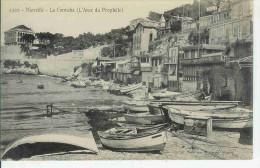 13  Cpa  MARSEILLE  La Corniche  (l'anse Du Prophete) - Endoume, Roucas, Corniche, Plages