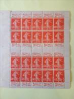 1924 Semeuse 194 194b Cote Maury 465 Euros Lesieur Double PUB - Advertising
