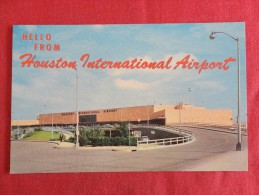 Texas > Houston  International Airport  Not Mailed    Ref 1246 - Houston