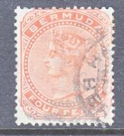 Bermuda 17  (o)   Wmk CC - Bermuda