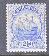 Bermuda 44   *  Wmk 3 - Bermuda