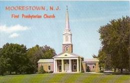 NEW JERSEY-MOORESTOWN: POSTCARD FIRST PRESBYTERIAN CHURCH BUILDING. GECKO. - Other