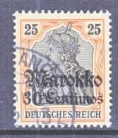 Germany  MOROCCO  49   (o)    Wmk. - Offices: Morocco