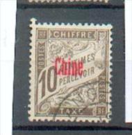 CHIN 177 - YT Taxe 2 Obli - Chine (1894-1922)