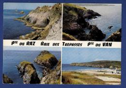 29 CLEDEN-CAP-SIZUN Baie Des Trépassés Et Pointe Du Van 4 Vues - Cléden-Cap-Sizun
