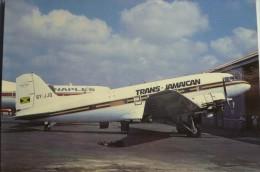 DC 3       TRANS JAMAICAN   6Y JJQ - 1946-....: Moderne