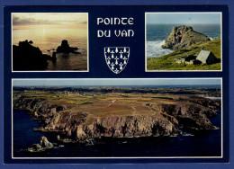 29 CLEDEN-CAP-SIZUN Pointe Du Van Et La Fontaine Saint They 3 Vues - Cléden-Cap-Sizun
