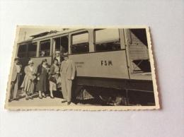 MILANO ? Tram? Animata - Cartolina Fotografica FP BN NV 1932 Photomaton Ruedl - Milano