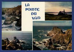 29 CLEDEN-CAP-SIZUN Pointe Du Van, Rocher Morgane, Chapelle Saint They, Rochers Pointe Du Van 4 Vues - Cléden-Cap-Sizun