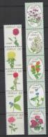 Japan (2013)  - Set -  /  Flowers - Blumen - Fleurs - #7 Series - Vegetales
