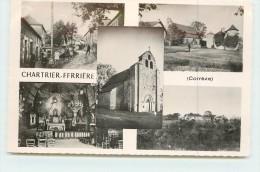 CHARTRIER-FERRIERE   -  Carte Multivues De La Ville. - France