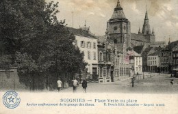 SOIGNIES    - PLACE  VERTE OU PLACE - Soignies