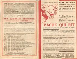PUBLICITE  La Vache Qui Rit  Brochure Collectionnez Les Belles Images 1934  2 Scans - Autres